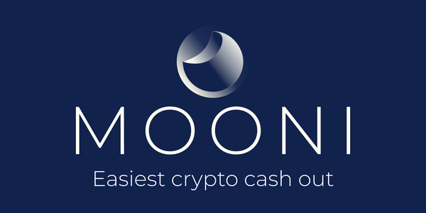 Mooni - The Easiest Crypto to Fiat Solution