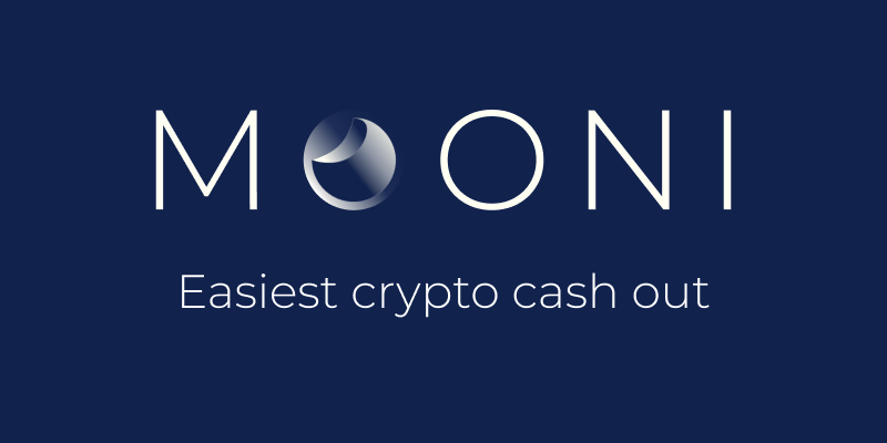 Mooni - La solution la plus simple pour vendre ses cryptomonnaies